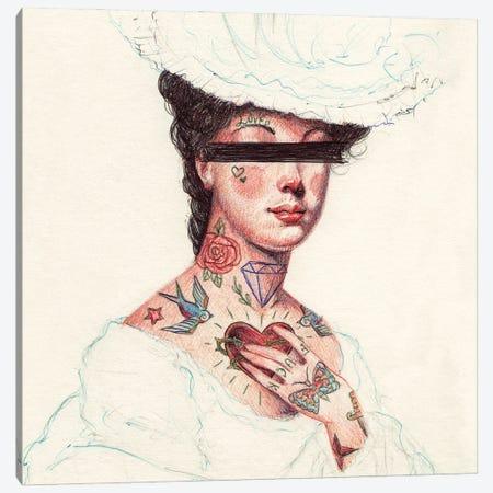 Unknown Princess Canvas Print #MKB173} by Mike Koubou Canvas Art Print