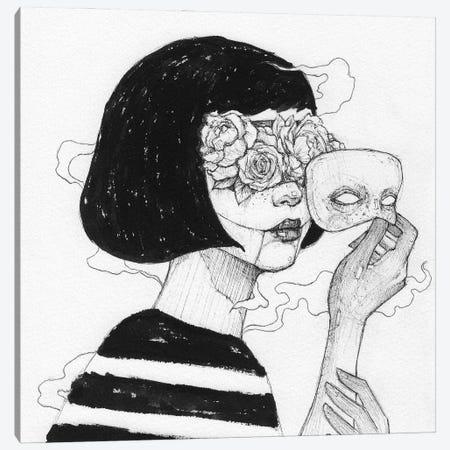 Mask Canvas Print #MKB178} by Mike Koubou Canvas Print