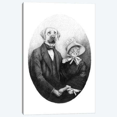 Eternal Couple Canvas Print #MKB21} by Mike Koubou Canvas Print