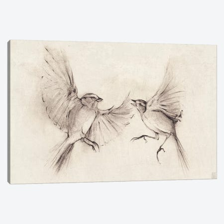 Birds 3-Piece Canvas #MKB3} by Mike Koubou Canvas Art Print