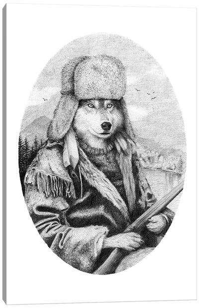 Mountain Wolf Canvas Art Print