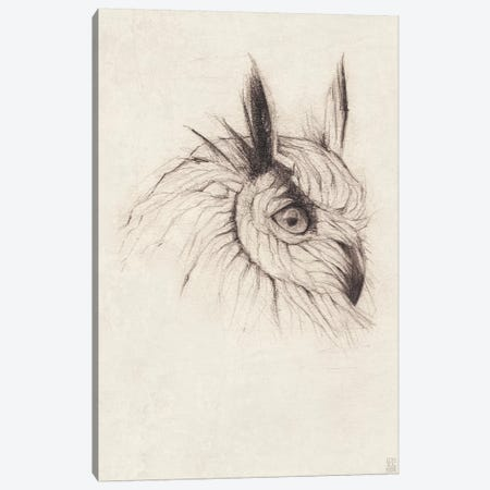 Owl II Canvas Print #MKB45} by Mike Koubou Canvas Artwork