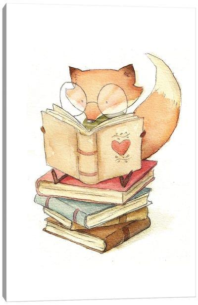 Book Lover Canvas Art Print