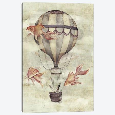 Skyfisher Canvas Print #MKB59} by Mike Koubou Canvas Artwork