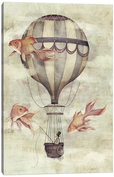 Skyfisher Canvas Art Print