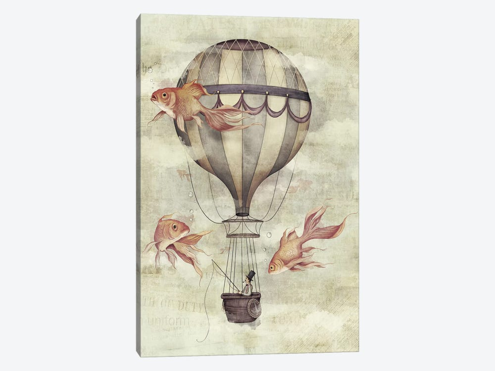 Skyfisher by Mike Koubou 1-piece Canvas Print