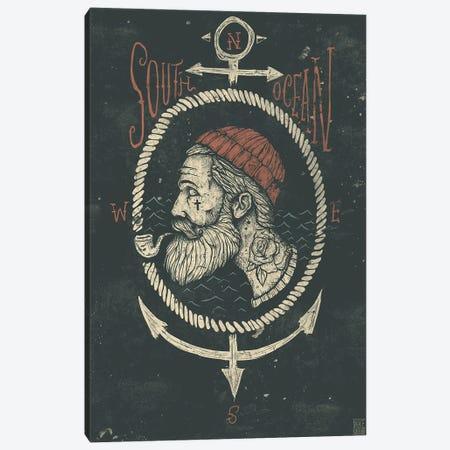 South Ocean Canvas Print #MKB61} by Mike Koubou Art Print