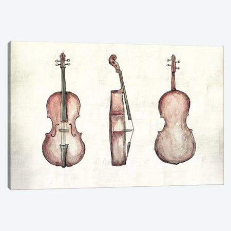 Cello Canvas Print #MKB6} by Mike Koubou Canvas Artwork