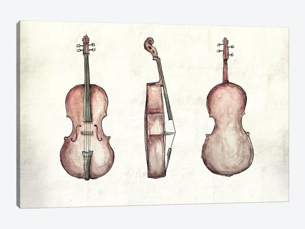 Cello by Mike Koubou 1-piece Art Print