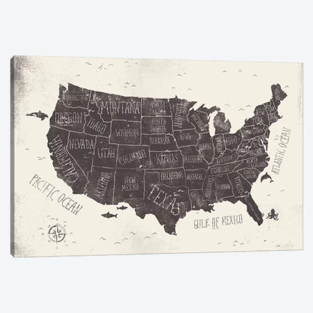 USA Canvas Print #MKB71} by Mike Koubou Canvas Art