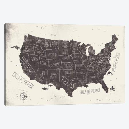 USA Canvas Print #MKB71} by Mike Koubou Canvas Art