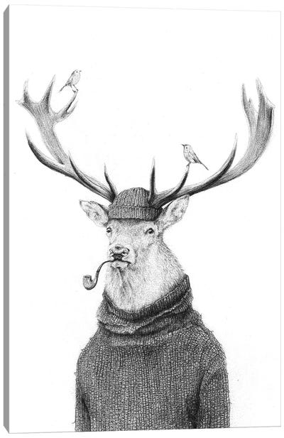 Wild Thinking Canvas Art Print