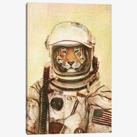 Apollo 18 II Canvas Print #MKB78} by Mike Koubou Canvas Art