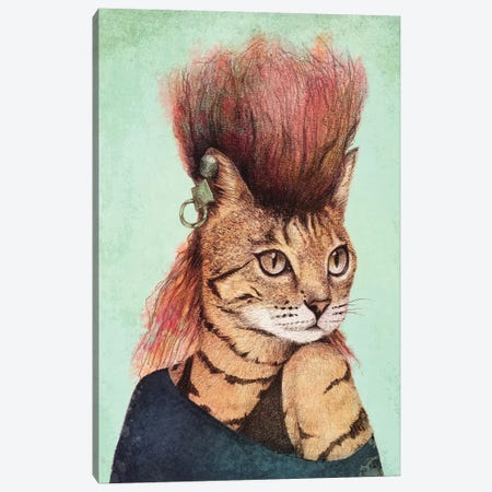 Caty II Canvas Print #MKB79} by Mike Koubou Canvas Art