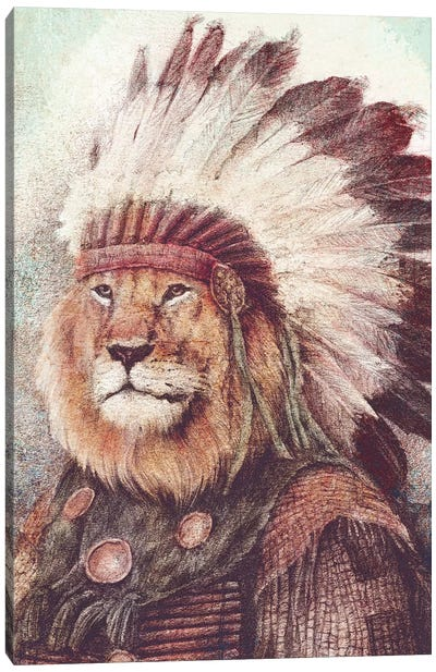 Chief II Canvas Art Print
