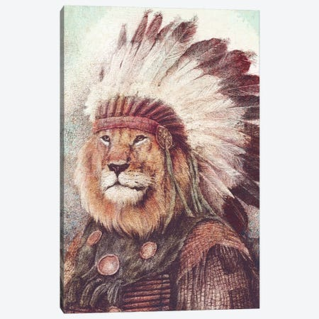 Chief II Canvas Print #MKB80} by Mike Koubou Canvas Art Print