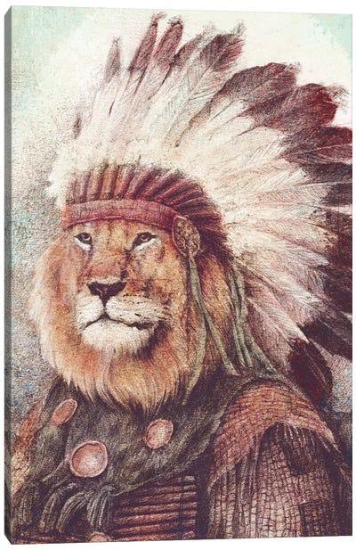 Chief II Canvas Art Print