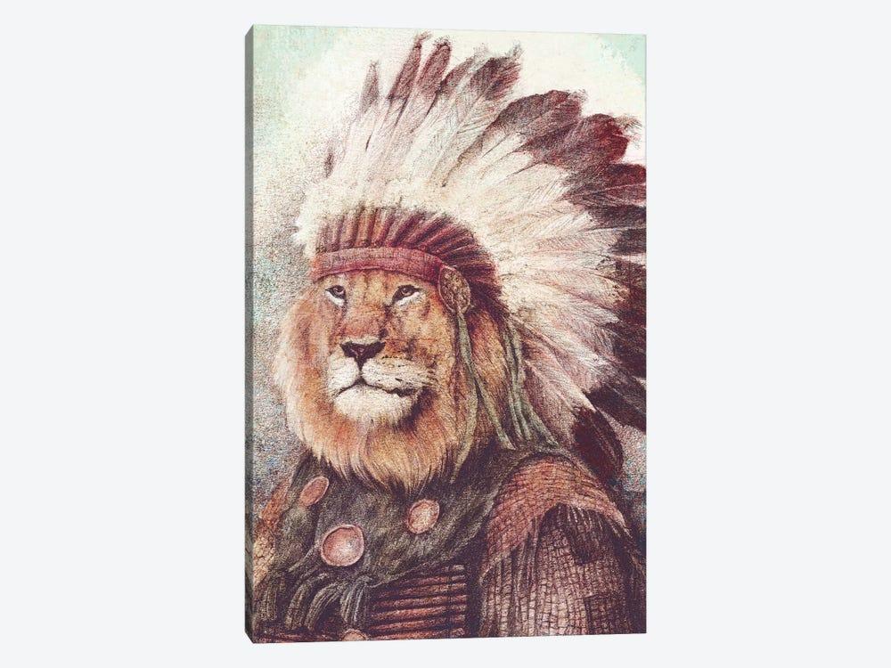 Chief II by Mike Koubou 1-piece Canvas Print