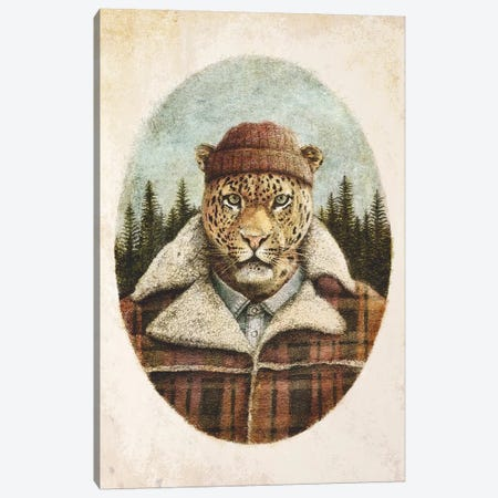 Lumberjack II Canvas Print #MKB83} by Mike Koubou Art Print