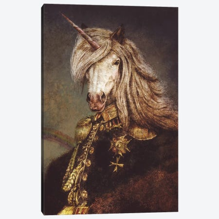 The Count of Wonderland II Canvas Print #MKB85} by Mike Koubou Canvas Wall Art