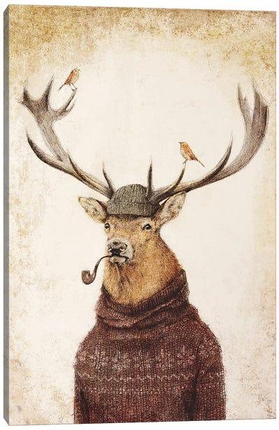 Thinking Wild Canvas Art Print