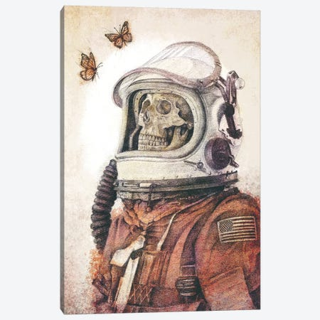 Butterflies In Space Canvas Print #MKB99} by Mike Koubou Canvas Artwork