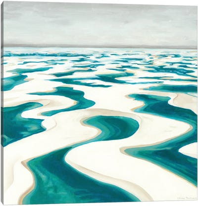 The Magical Desert I - Lencois Maranhenses Canvas Art Print