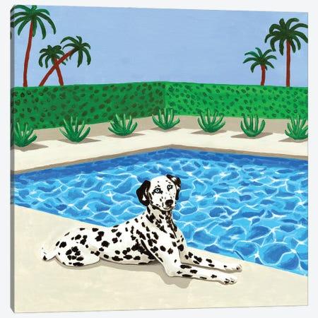 Chilling Dalmatian Canvas Print #MKC24} by Mila Kochneva Canvas Art Print