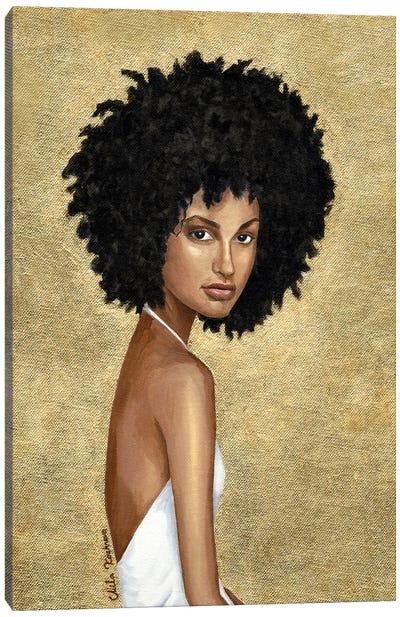 Sunny Girl Canvas Art Print