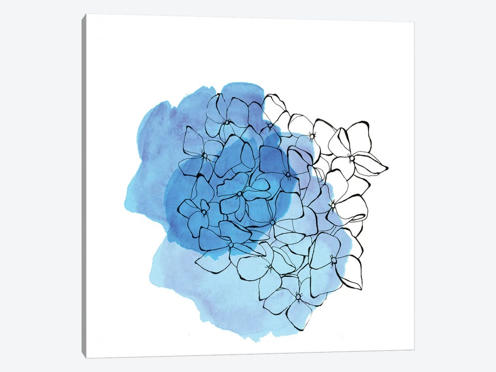Hydrangea by Morgan Kendall 1-piece Canvas Art Print