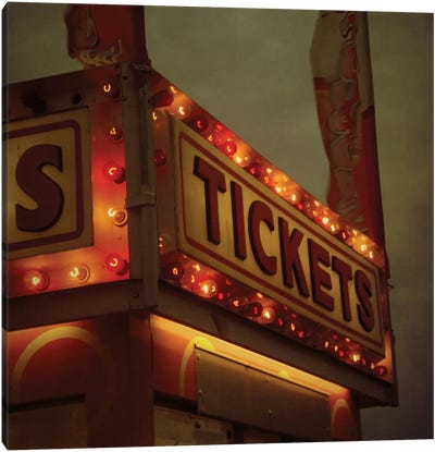 Tickets Canvas Print #MKE13