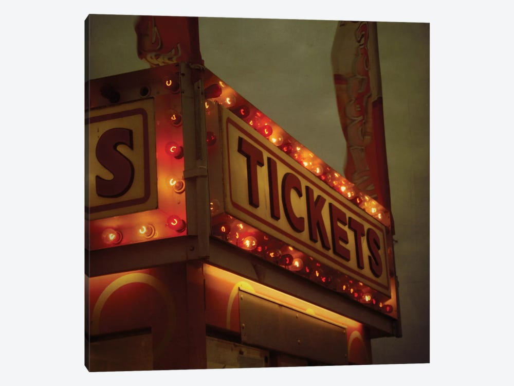 Tickets by Morgan Kendall 1-piece Canvas Wall Art