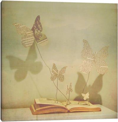 Paper Wings Canvas Art Print