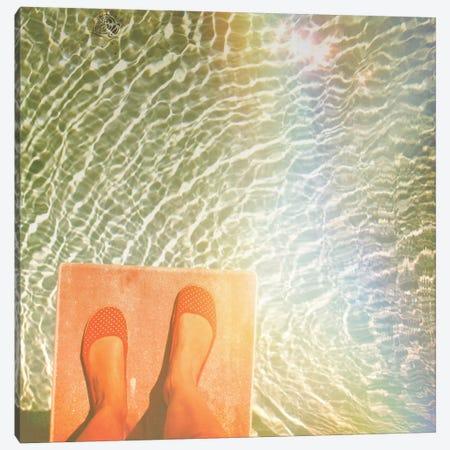 Liquid Stars Canvas Print #MKE50} by Morgan Kendall Art Print