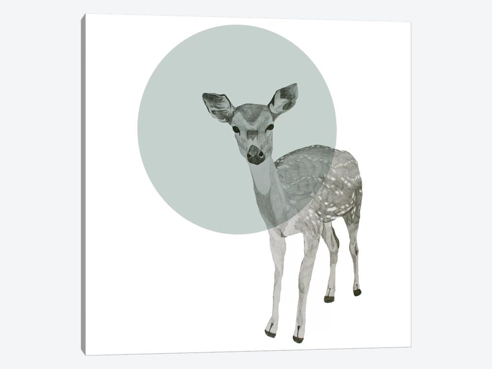 Deer by Morgan Kendall 1-piece Canvas Print