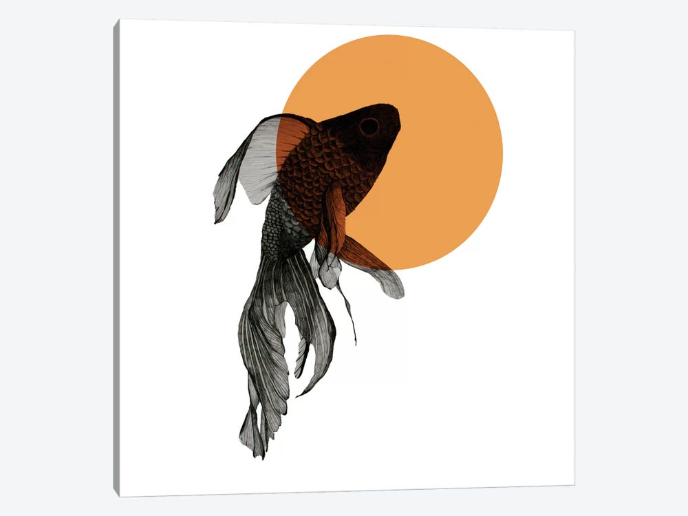 Goldfish by Morgan Kendall 1-piece Art Print