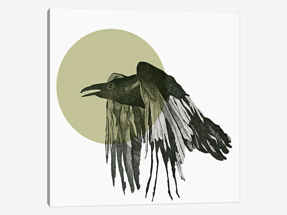 Raven by Morgan Kendall 1-piece Canvas Art