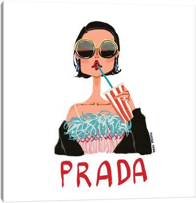 Cinema Prada Canvas Art Print
