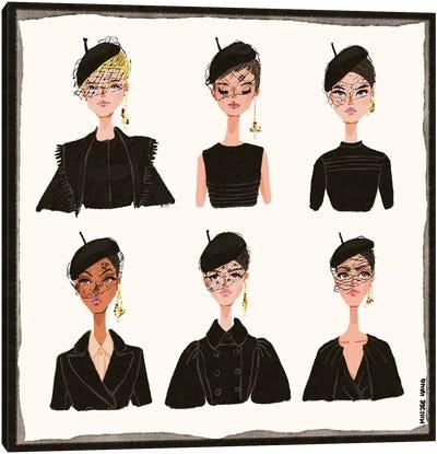Dior Faces Canvas Art Print