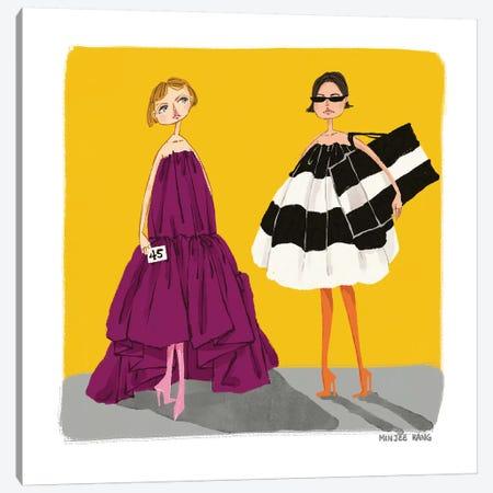 Balenciaga Canvas Print #MKG1} by Minjee Kang Canvas Artwork