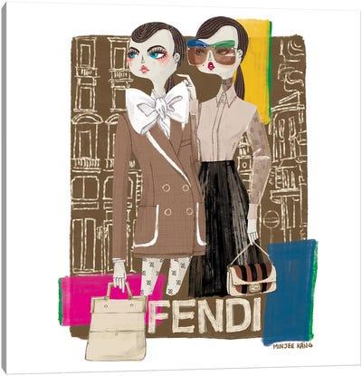 FENDI Canvas Art Print
