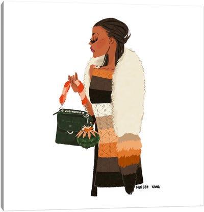 Fendi Lady Canvas Art Print