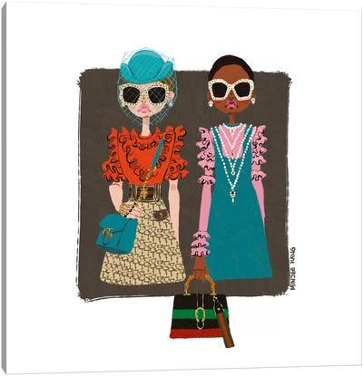 Gucci Girls Canvas Art Print