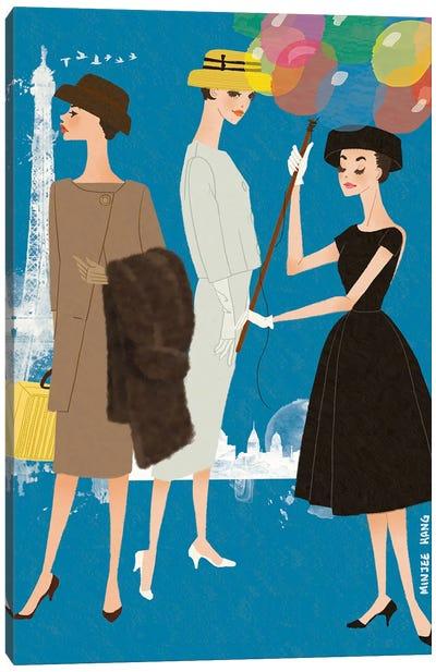 Hepburn for Funny Face Canvas Art Print