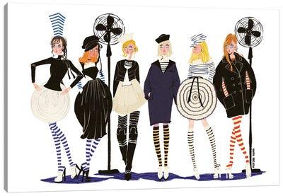 Jean Paul Gaultier Crew Canvas Art Print