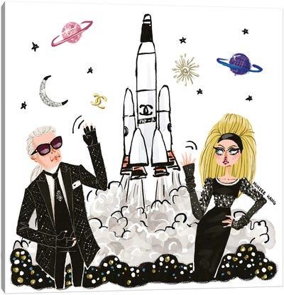 Karl Lagerfeld Universe Canvas Art Print