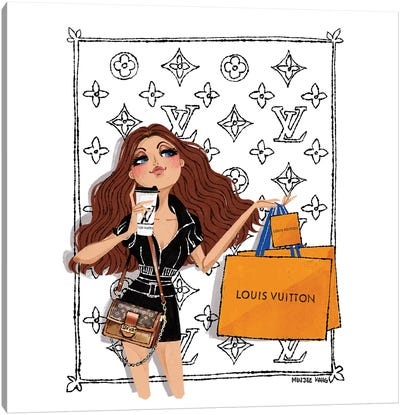 Louis Vuitton Day Canvas Art Print