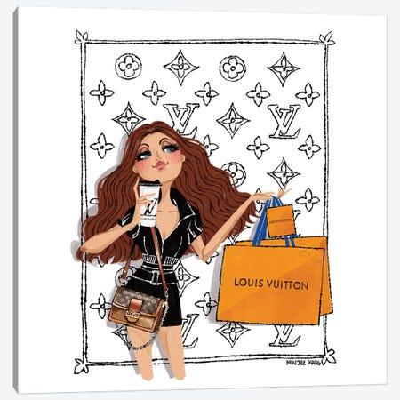 Louis Vuitton Day Canvas Print #MKG47} by Minjee Kang Canvas Art Print