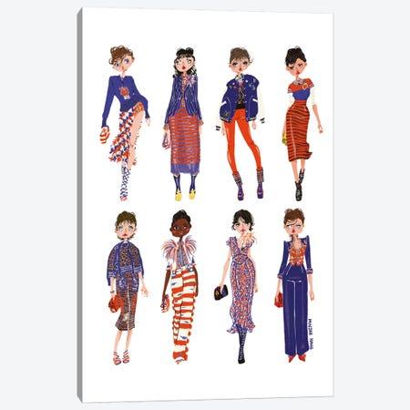 Marc Jacobs Canvas Print #MKG50} by Minjee Kang Art Print