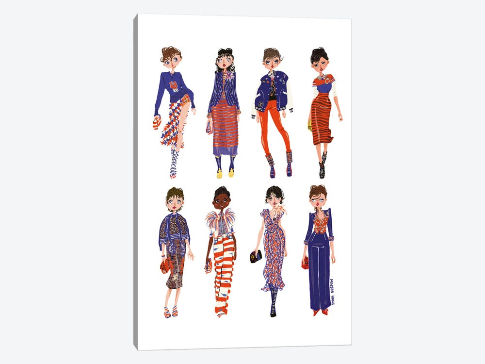 Marc Jacobs by Minjee Kang 1-piece Canvas Wall Art